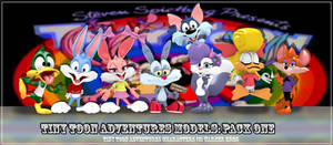 JCThornton's Tiny Toon Adventures Models: Pack One