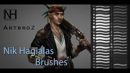 Nik's Brushes by sk8rnik