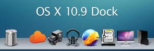 OS X 10.9 Dock
