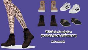 MMD Darte77 Shoes Pack (DL)