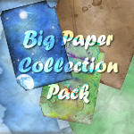 Torn Paper Texture Pack - Personal use only by painted-leaf