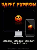 Happy Pumpkin by hello-123456