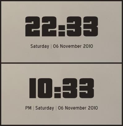 Pricedown Rainmeter Clock