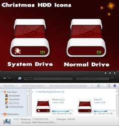 Christmas HDD Icons