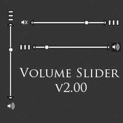 Volume Slider v2.00 by JpsCrazy