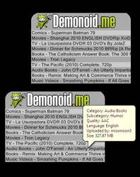 Demonoid RSS
