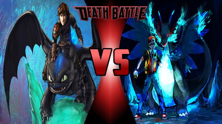 DEATH BATTLE!: Toothless Vs Charizard by TheMohZone on