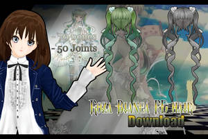 [MMD] Roza Bianca hair PD download by NanaSui