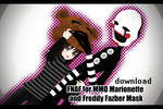 [MMD] Marionette and Freddy Mask [Download]