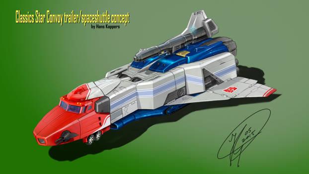 Classics Star Convoy Spaceshipmode concept
