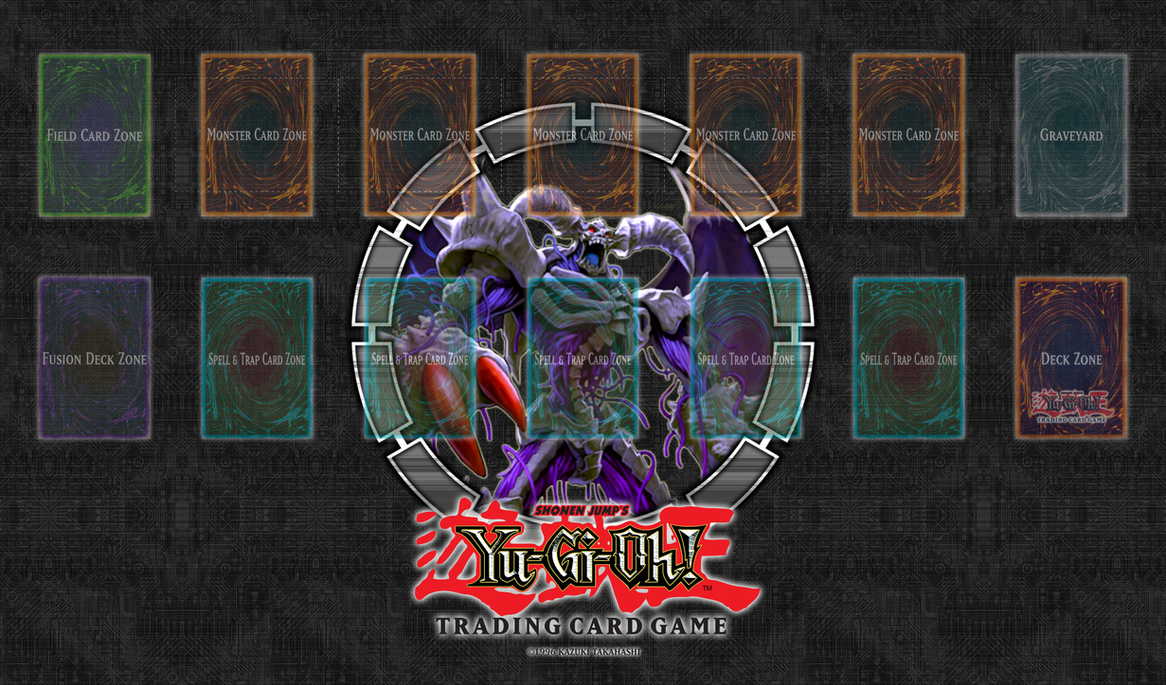 Archfiend Zombie Skull Yu-Gi-Oh! Playmat: Arc...