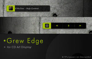 GrewEdge CD Art Display by TPclippers