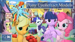 Pony EyeRefract Models