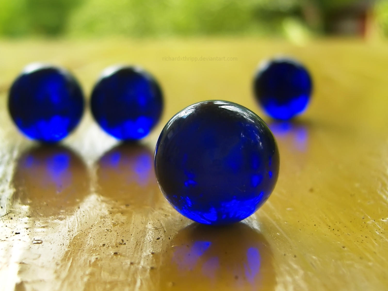 Must see Wallpaper Marble Ball - blue_marbles_4__4_blue_marbles_by_richardxthripp  Trends_651291.jpg