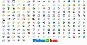 Windows XP icons