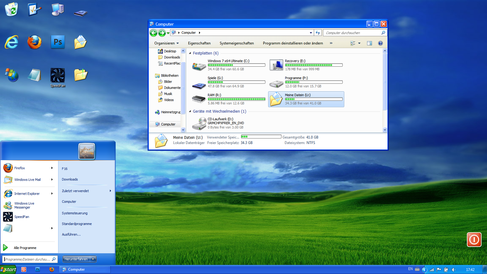 windows xp windows 7 skin