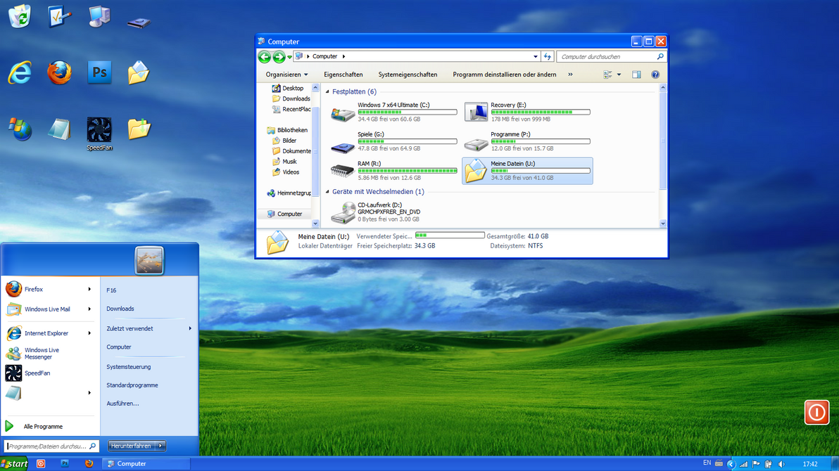 windows xp infected theam - photo #27