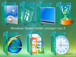 Win Sewen Folder concept icon2