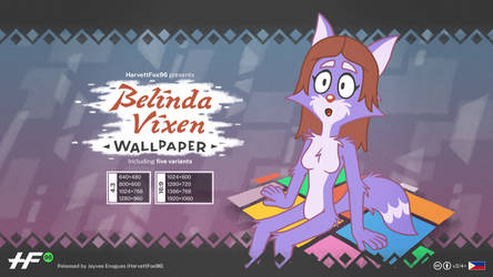Belinda Vixen: Wallpaper