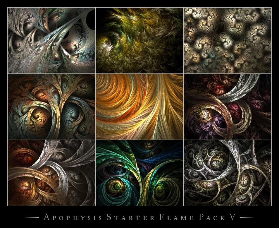 Apophysis Starter Flames V by ClaireJones