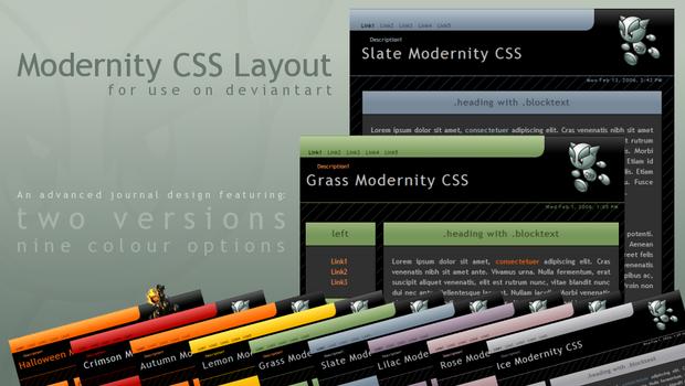 Modernity Candy CSS v.1.2.2