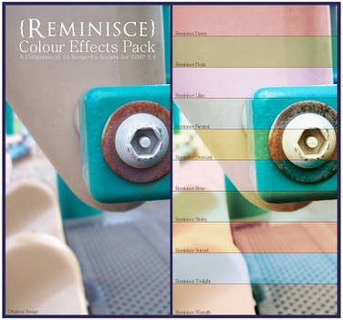 Reminisce Colour Effects Pack v.1.1