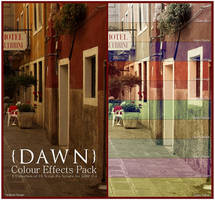 Dawn Colour Effects Pack v.1.1 by ClaireJones