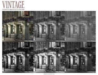 Vintage Color Effects Pack v.1