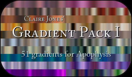Apophysis Gradient Pack I by ClaireJones