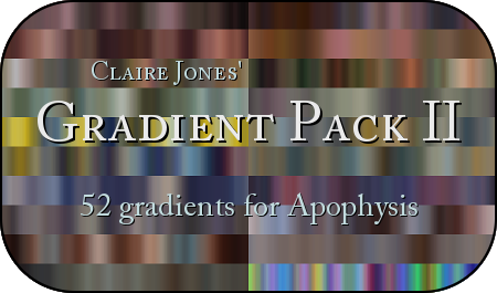 Apophysis Gradient Pack II by ClaireJones