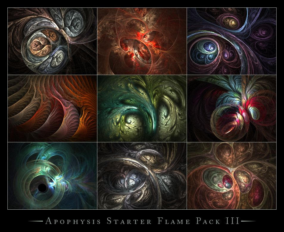 Apophysis Starter Flames III by ClaireJones