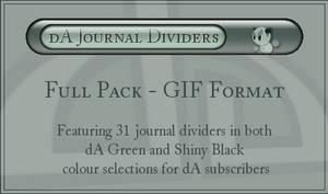 dA Journal Dividers - GIFs
