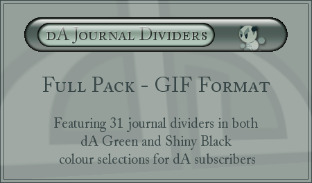 dA Journal Dividers - GIFs by ClaireJones