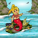 Baby Mermaid Dress Up, Juego de vestir Bebe Sirena by Adoratia