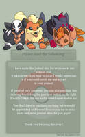 Canine pokemon journal skin (please share!) by TamilaB