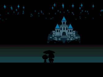 Undertale Lake by nega108