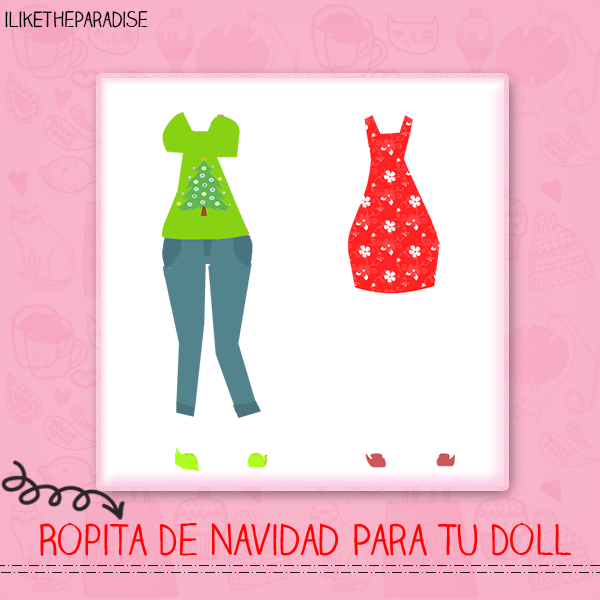 Ropa Navidena Para TuDoll (iLikeTheParadise) by iLikeTheParadise