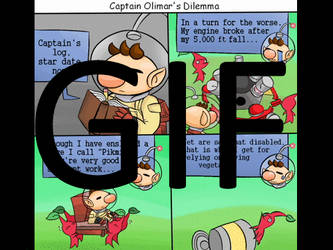 4-Bits Comic-Olimar's dilemna by 4bitscomic