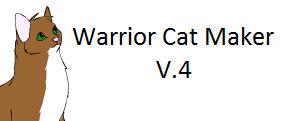 Warrior Cat Maker V.4