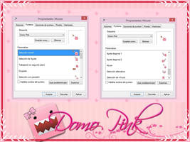 Cursores Domo Pink by SweetPinkGalaxy