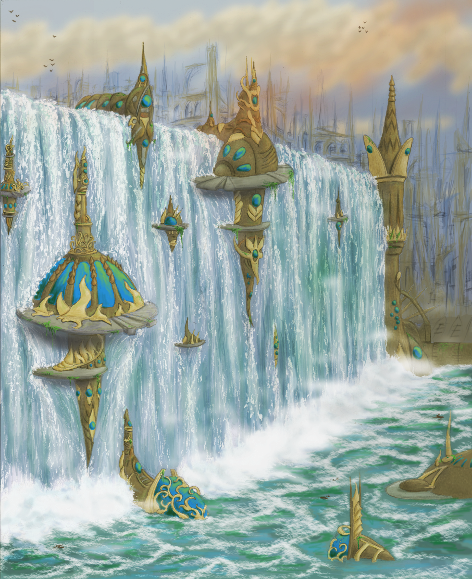 Simic Style Island By Narset On Deviantart
