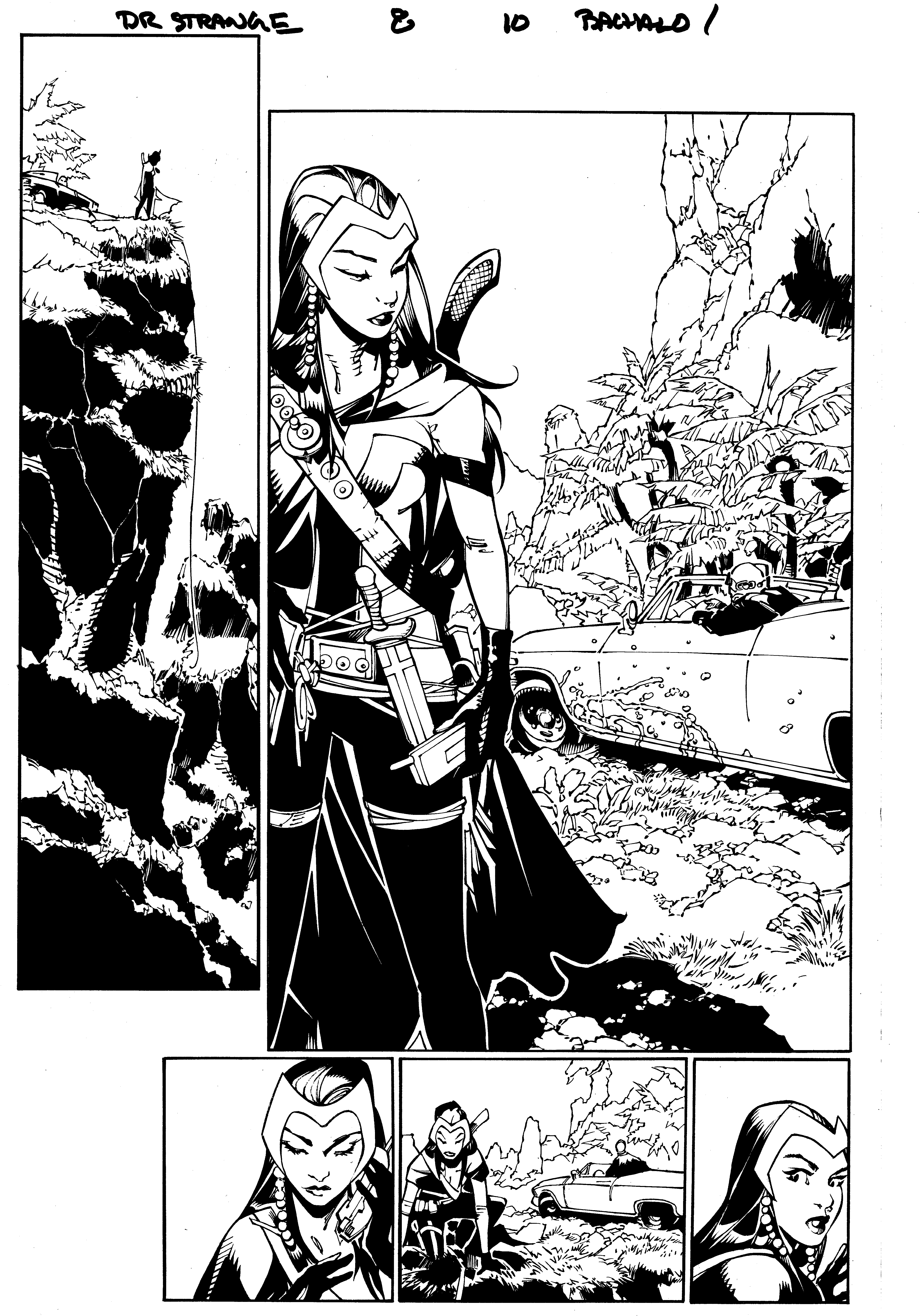 Doctor Strange 8, page 10 by MarkIrwin
