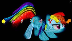 PS3 Pony Fractal Theme by InternationalTCK