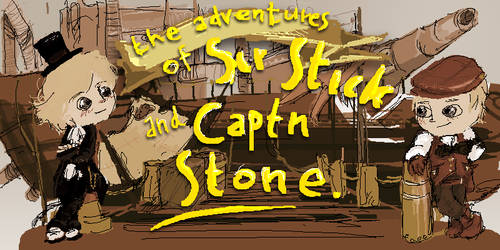 Sir Stick and Captn Stone by matcon