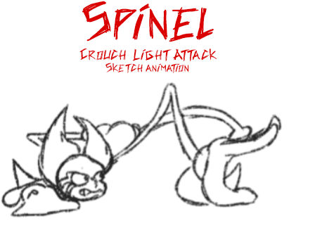 Crouch Light Attack (Spinel MUGEN)
