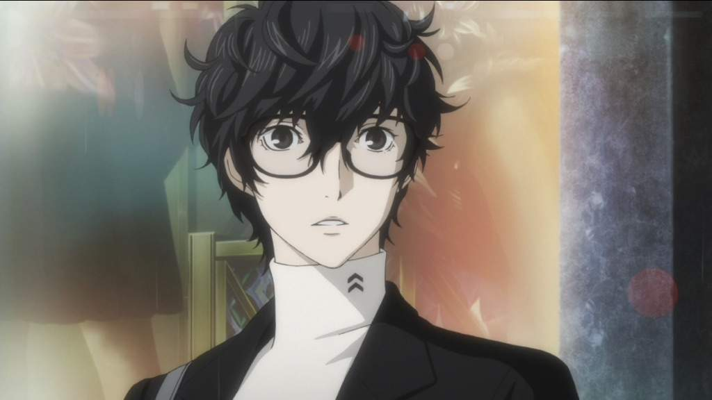 Shy Anime Guy With Glasses