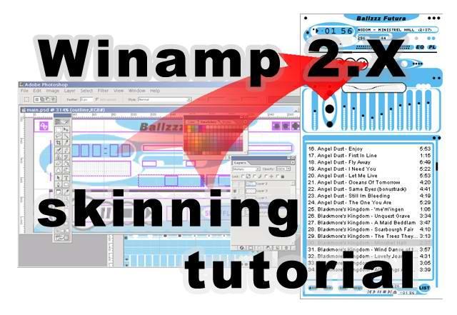 Winamp 2X skinning tut updated