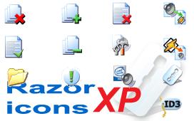 Razor Icons XP by sacrat