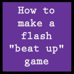 Flash tutorial: Beat up game by chi-u