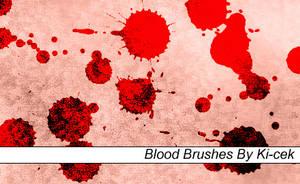 Blood Brushes by ki-cek